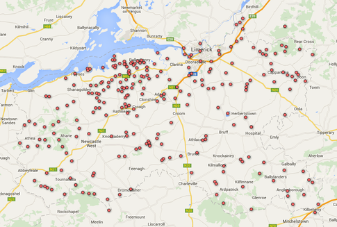 Limerick WMI Map 2015